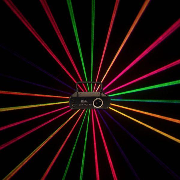 Professional 2Watt Full Colour Animation Ilda Laser