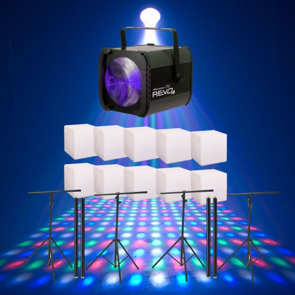 80s party lighting package