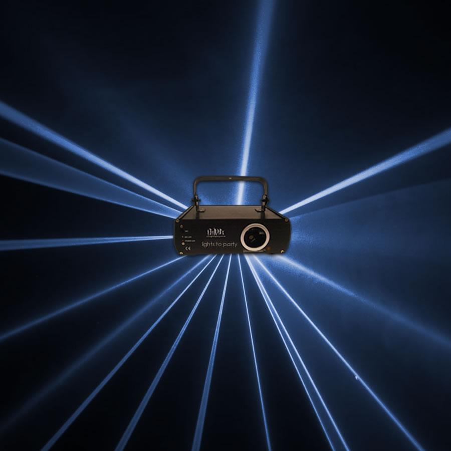 Blue Animation Cluster Laser