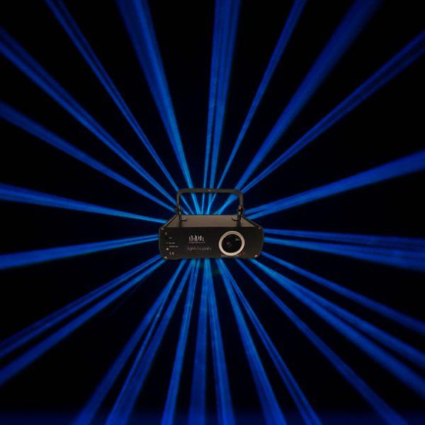 Professional Blue Animation Ilda Laser