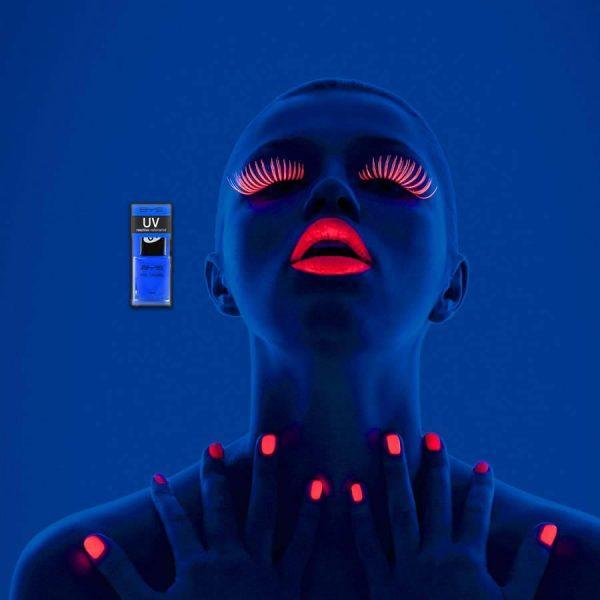 Blue Bolt UV Nail Polish