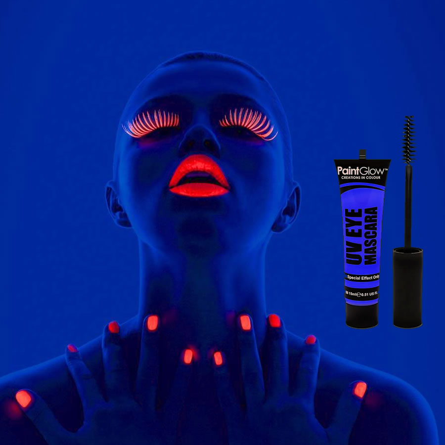 Blue UV Neon Eye Mascara
