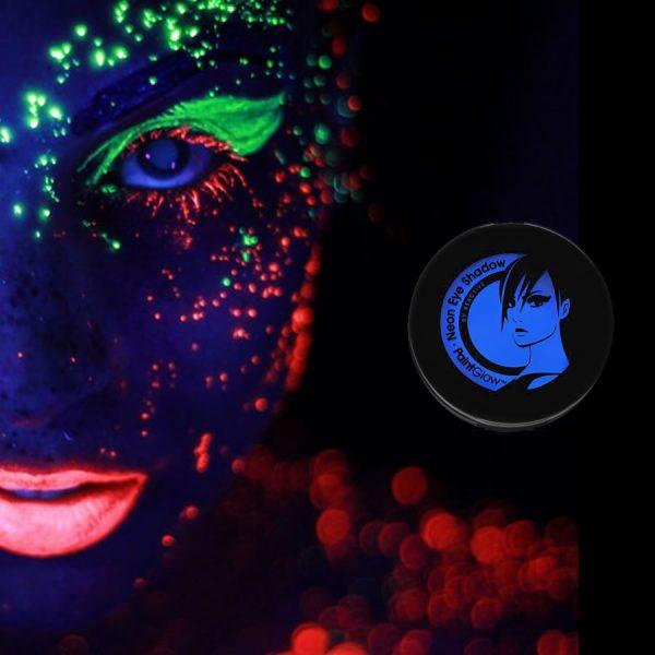 Blue UV Neon Eyeshadow