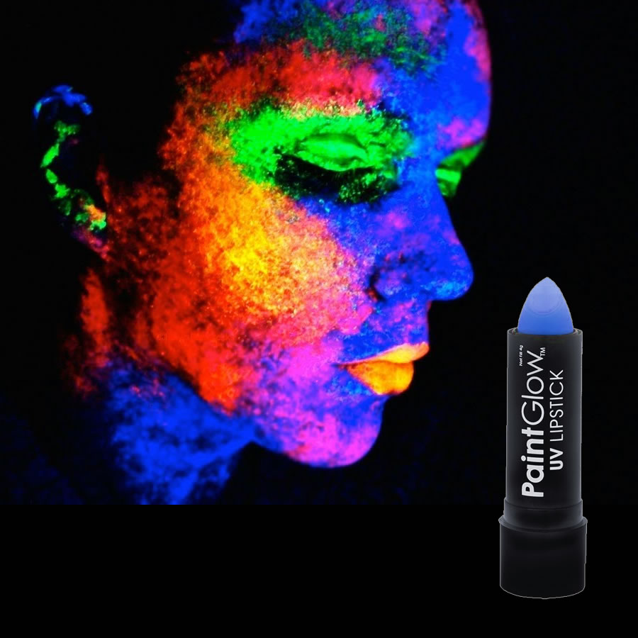 Blue UV Neon Lipstick