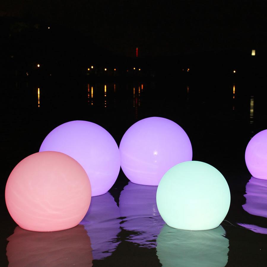 Extra Small Illuminated Glow Spheres