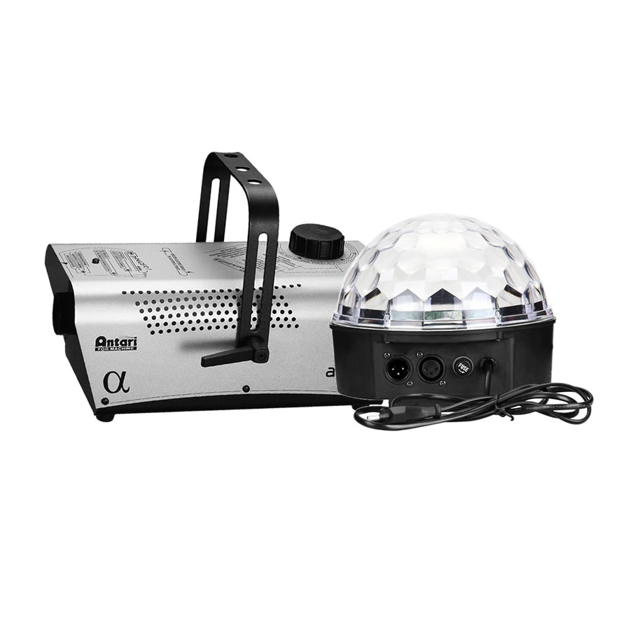 Crystal Ball & Smoke Machine Package