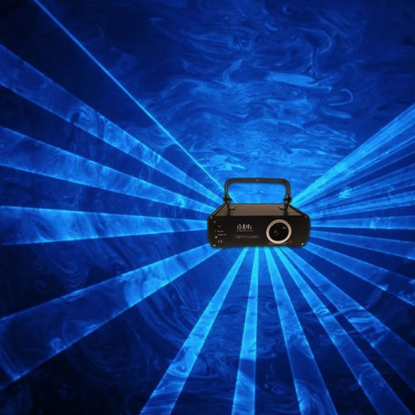 Professional Cyan Animation Ilda Laser