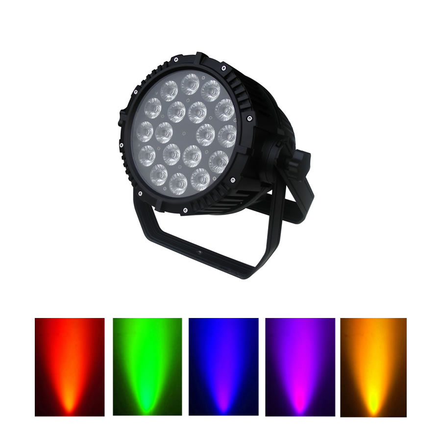 full colour outdoor led wash light