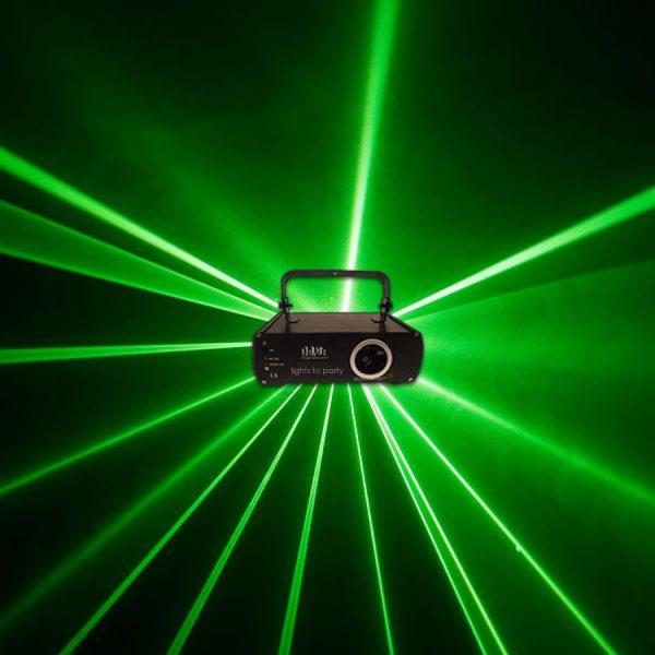 Green Cluster Laser