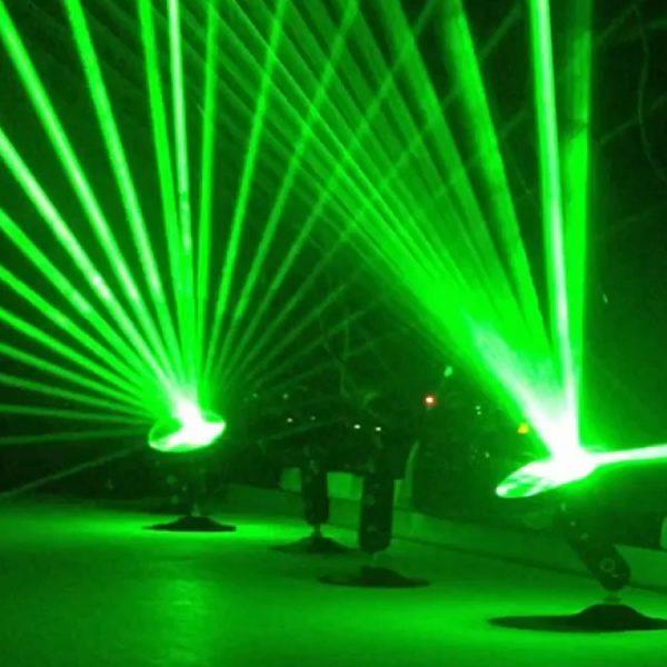 Green Laser Web