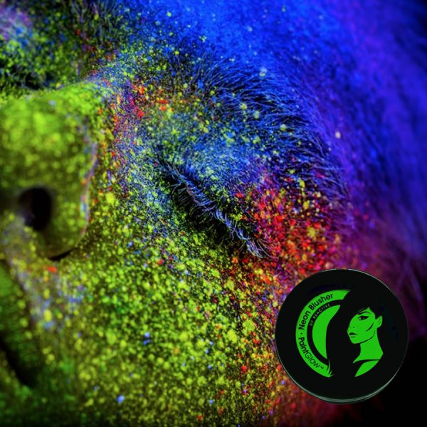 Green UV Neon Blusher