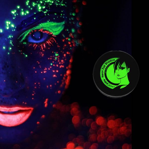 Green UV Neon Eyeshadow