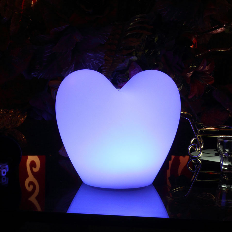 Illuminated Glow Love Heart