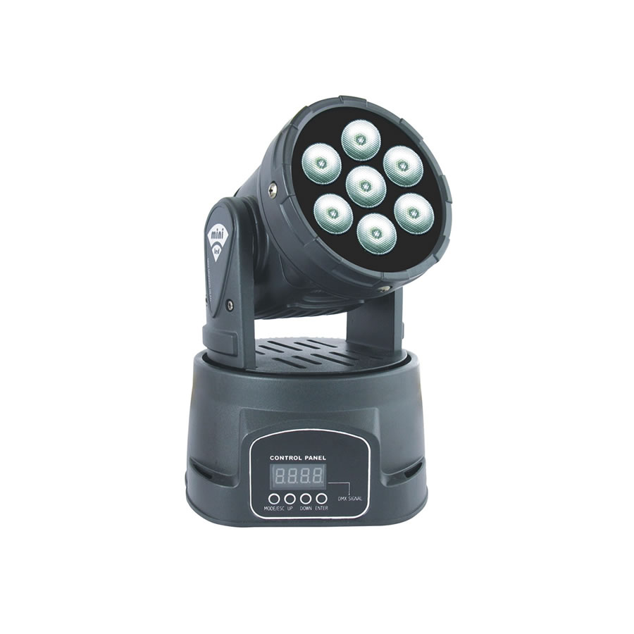LED Mini Moving Head Wash Light