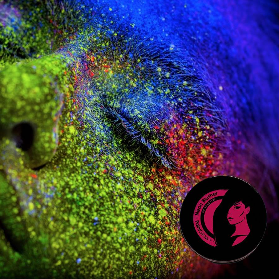 Magenta UV Neon Blusher
