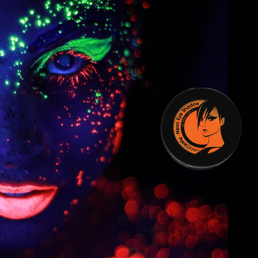 Orange UV Neon Eyeshadow