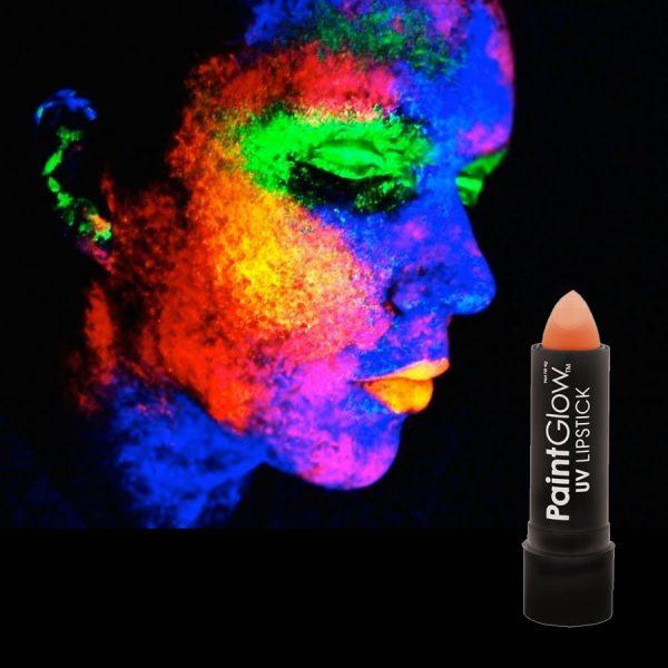 Orange UV Neon Lipstick