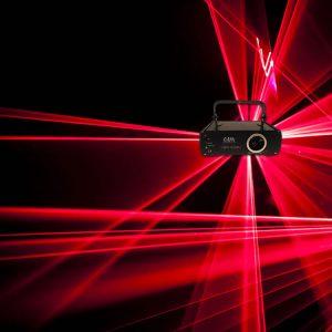 Professional Red Animation Ilda Laser