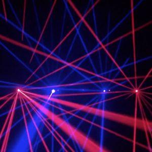 Dual Colour Animation ILDA Laser Package