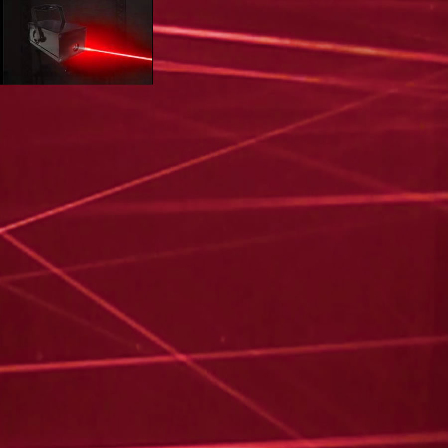 Red Fat Beam Laser
