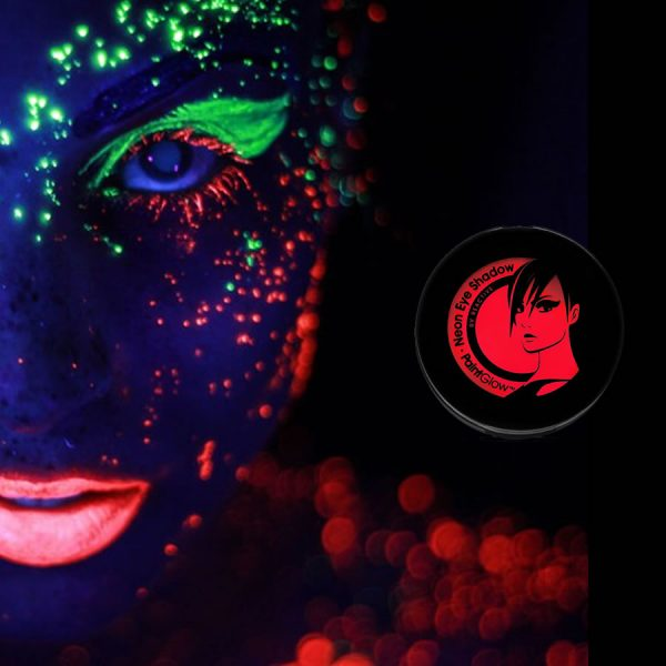 Red UV Neon Eyeshadow