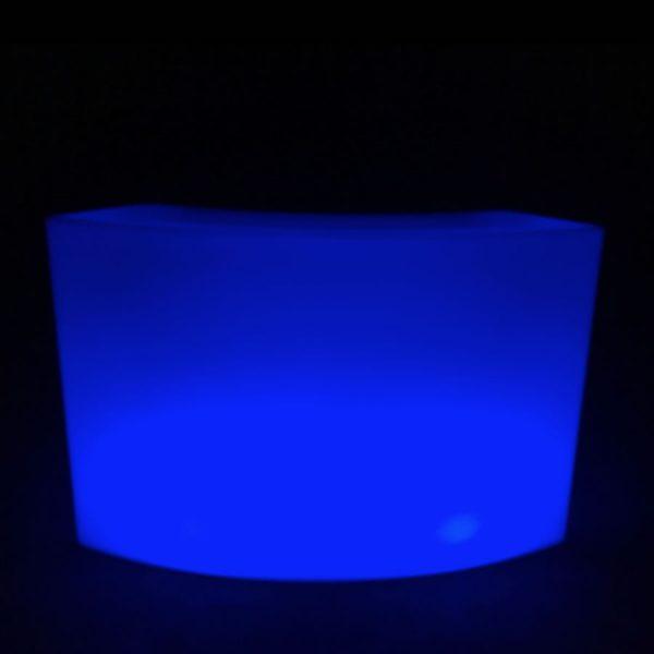 Round Glow Bar Hire