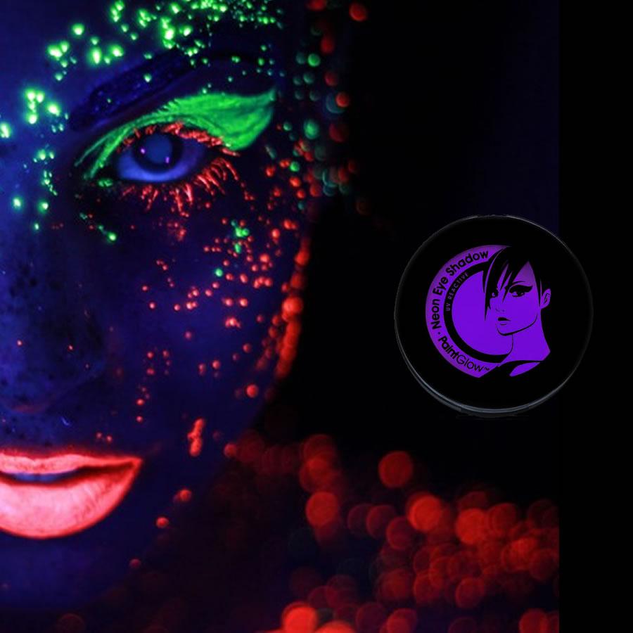 Violet UV Neon Eyeshadow