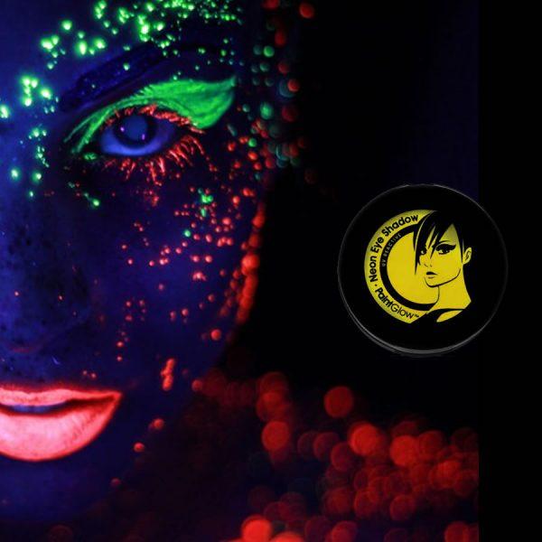Yellow UV Neon Eyeshadow