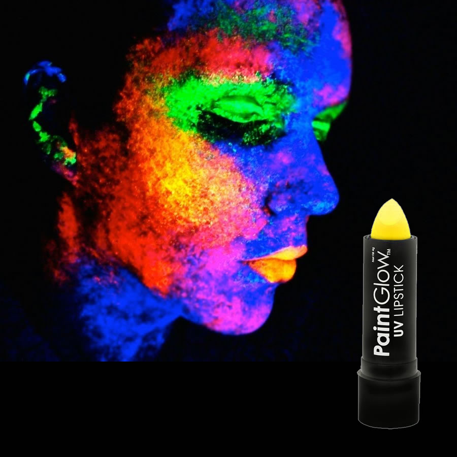 Yellow UV Neon Lipstick