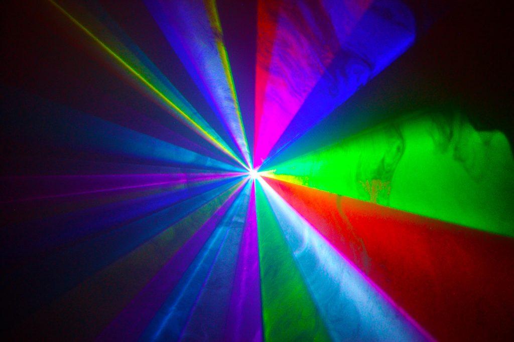 full colour laser