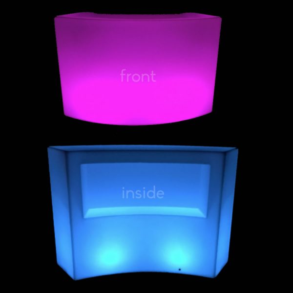 Illuminated Glow Round Bar