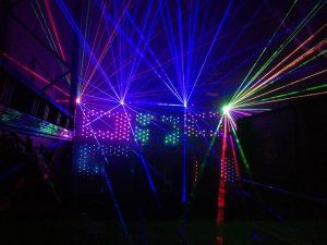 Hire laser lights
