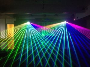 Professional laser lights hire