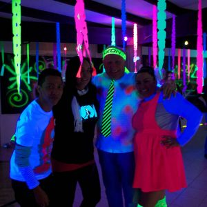 Black Light UV Parties