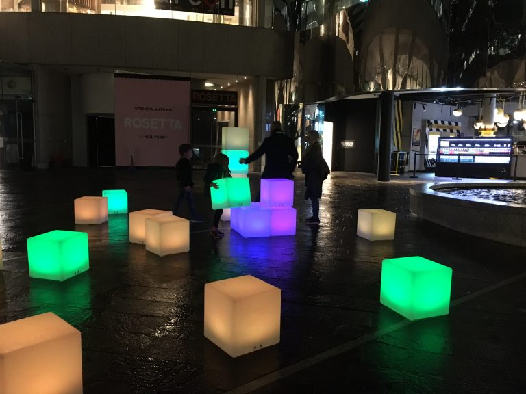 Hire LED Glow Cubes