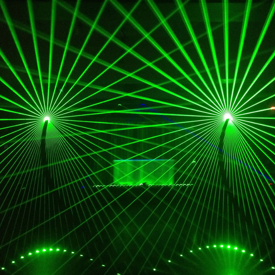 Laser Show - Mona Vale Hotel