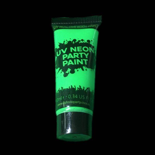 Green UV Body Paint