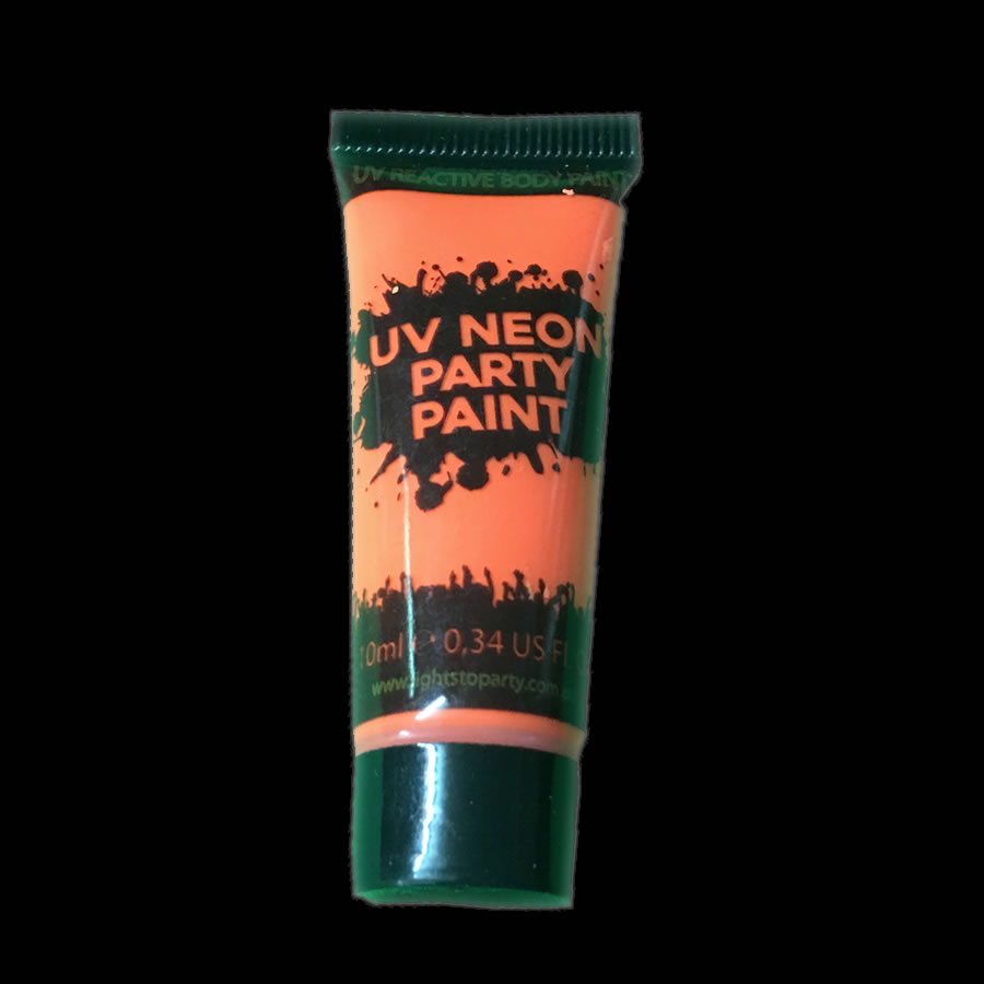 Orange UV Body Paint
