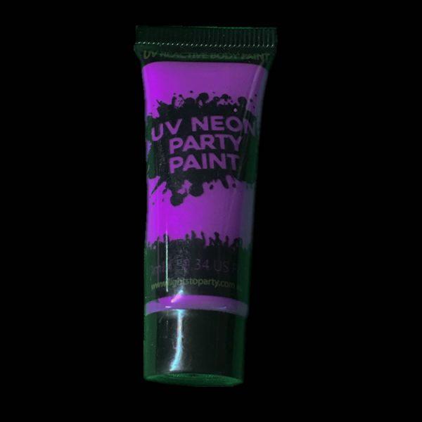 Purple UV Body Paint
