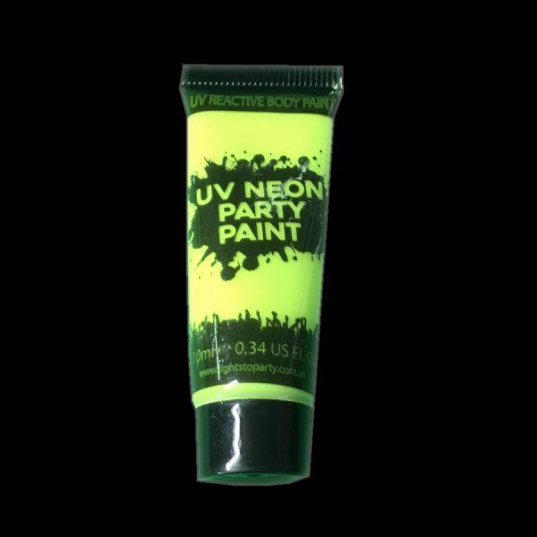 Yellow UV Body Paint