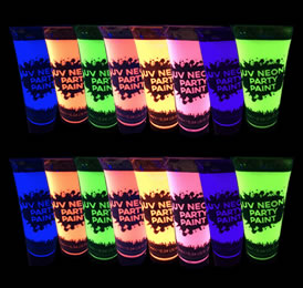 Uv Body Paint Bulk Pack