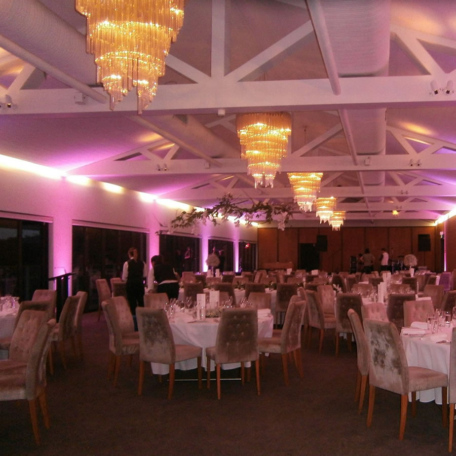 Wedding Lighting - The Seargents Mess