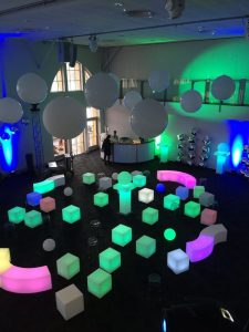 glow furniture hire