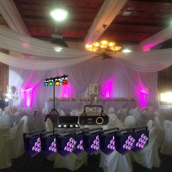 Laser Lights Wedding Package