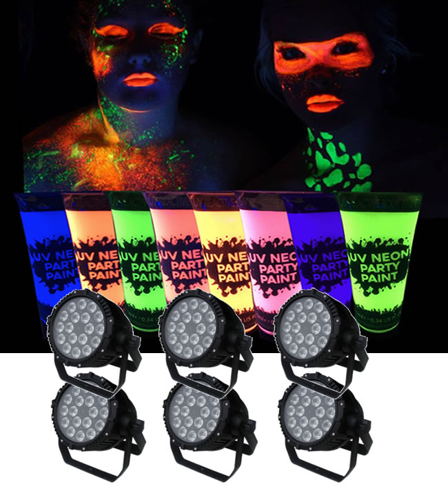 outdoor uv lights package