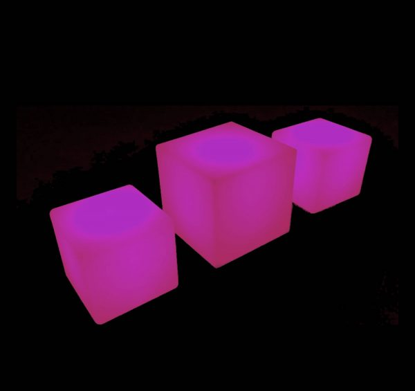 glow coffee table hire