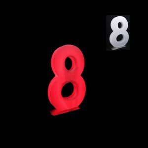 glow numbers number eight