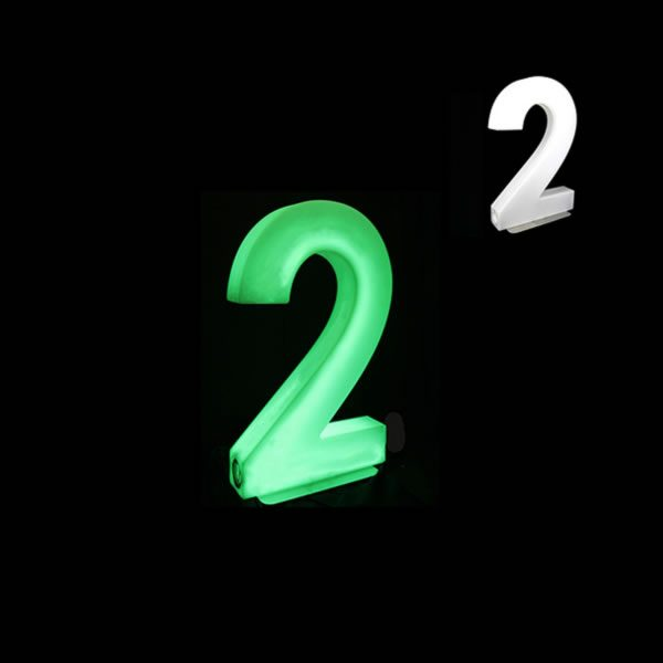 Glow Numbers number 2