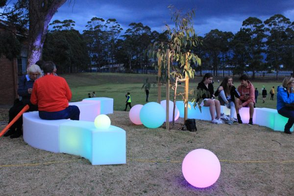 outdoor glow furniture hire