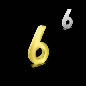glow numbers number six